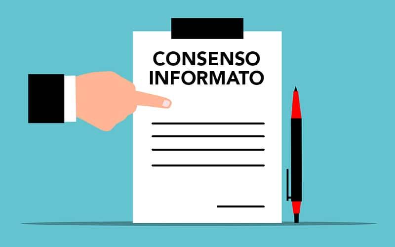 Il consenso informato. Conseguenze della violazione del consenso.